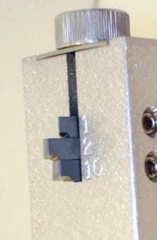 Old-style tip slot